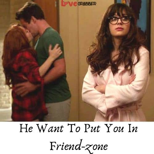 you are in the friend zone